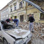 La ciudad más afectada fue Petrinja, a 50 kilómetros de Zagreb. (EFE)
